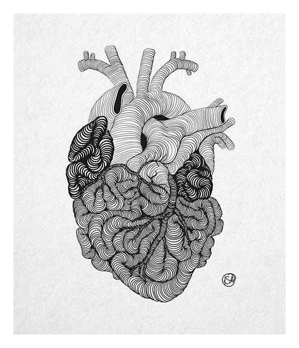 Guts into a Heart