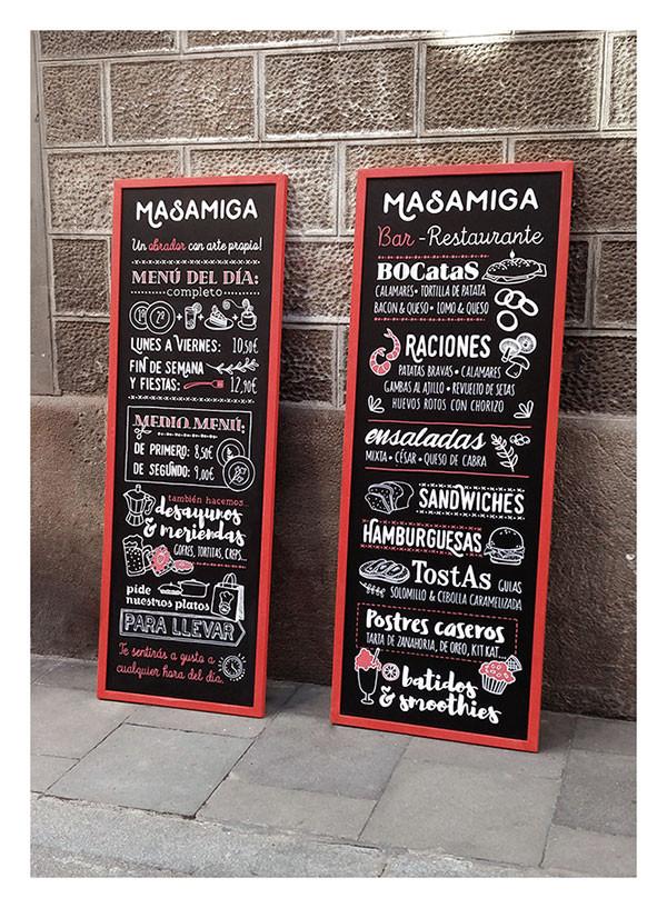Masamiga Chalkboard