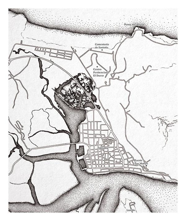 Mapa Monte Buciero